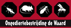 Ongediertebestrijding de Waard logo